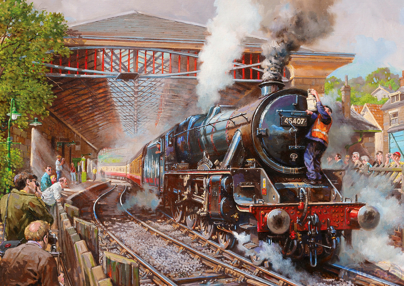 Pickering Station Travel Jigsaw Puzzle