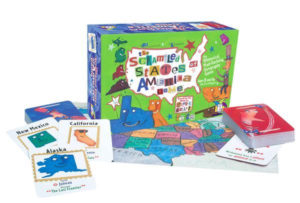 Scrambled States of America Game Children's Games Card Game