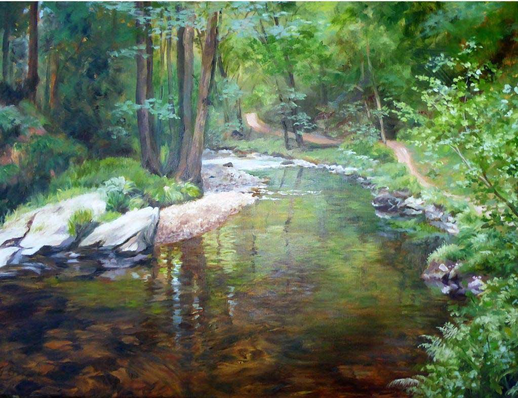River Bend, Exmoor Forest Jigsaw Puzzle