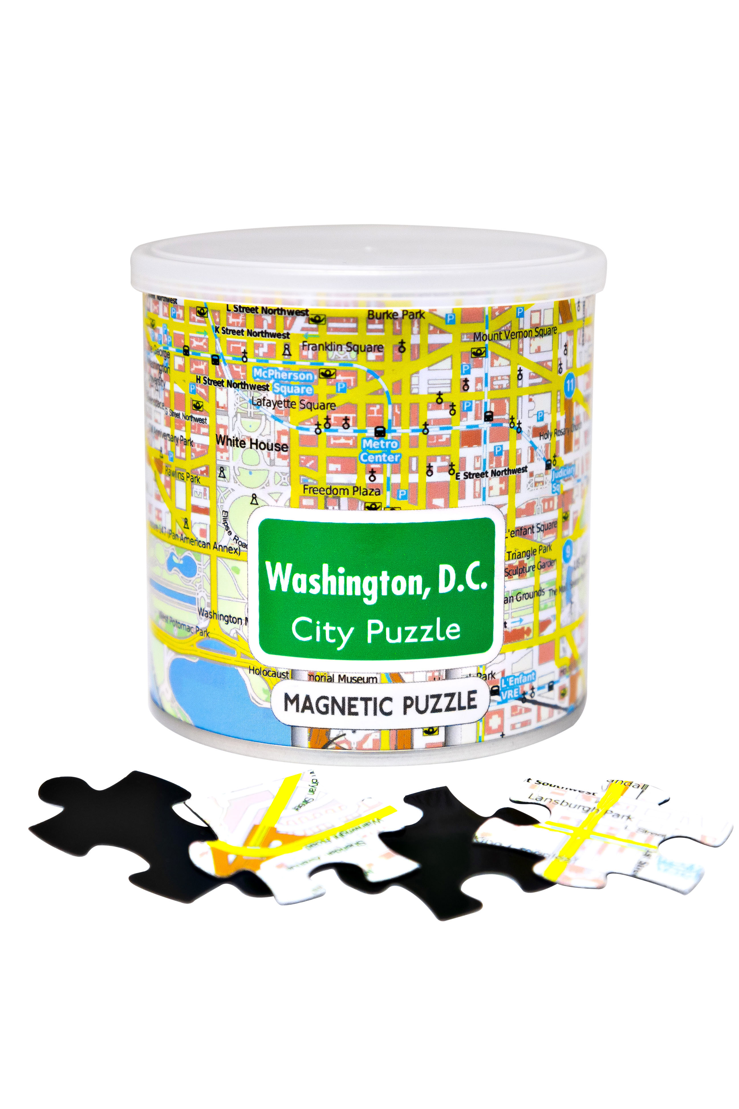 City Magnetic Puzzle Washington DC Cities Jigsaw Puzzle