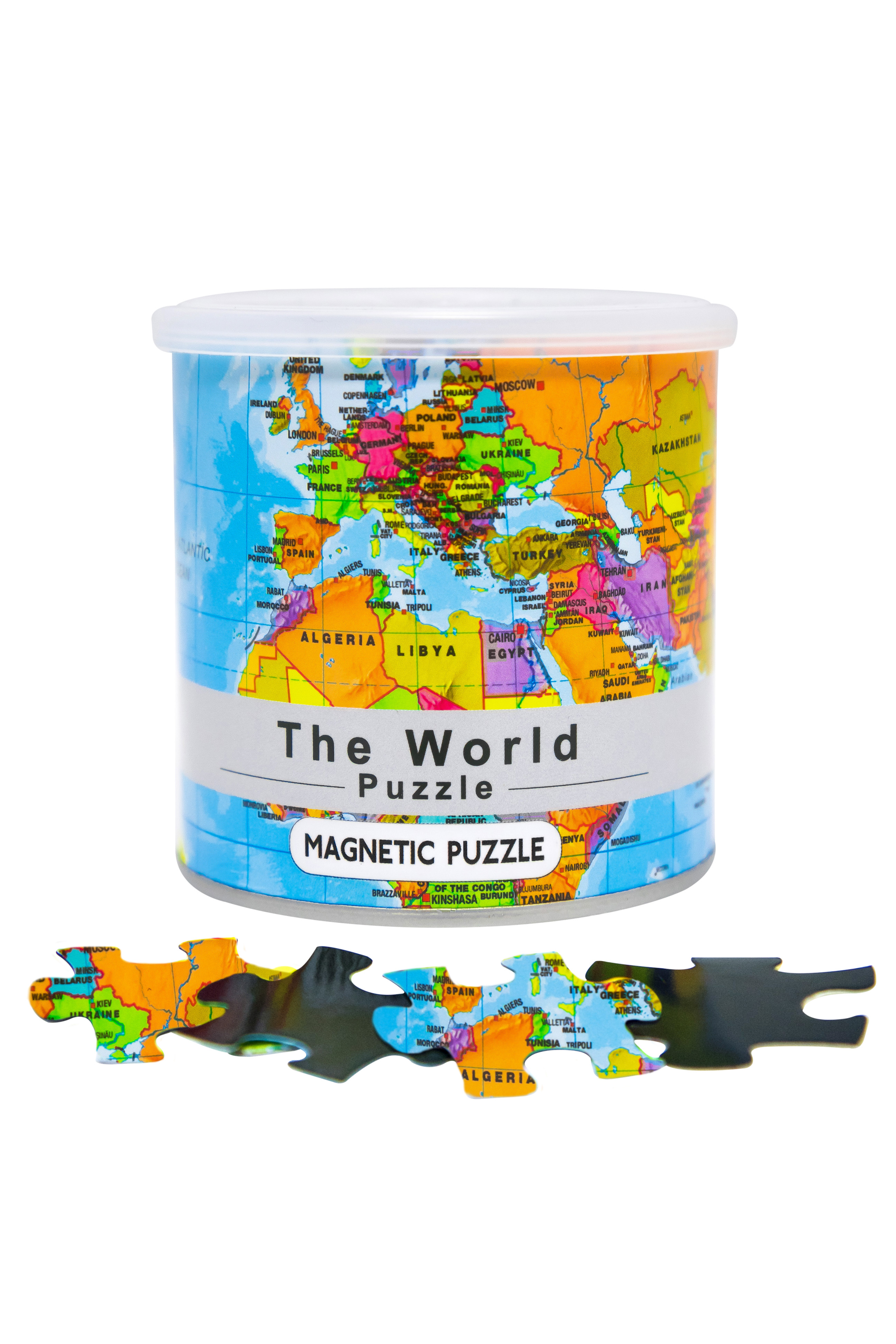 City Magnetic Puzzle World Cities Jigsaw Puzzle