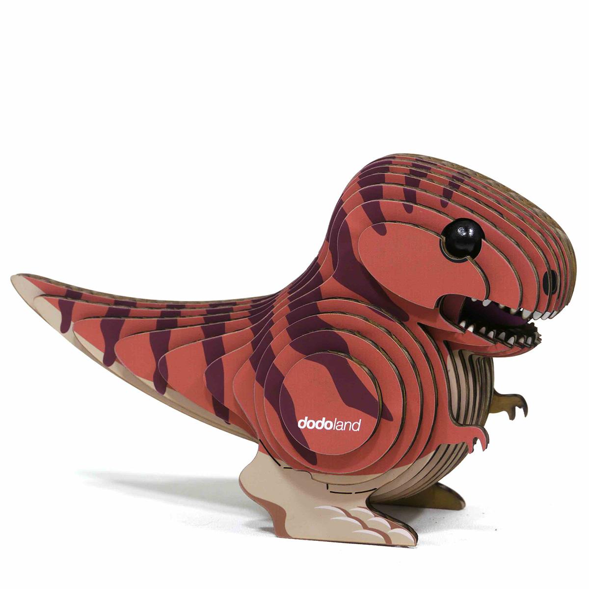 Tyranno Eugy Dinosaurs 3D Puzzle
