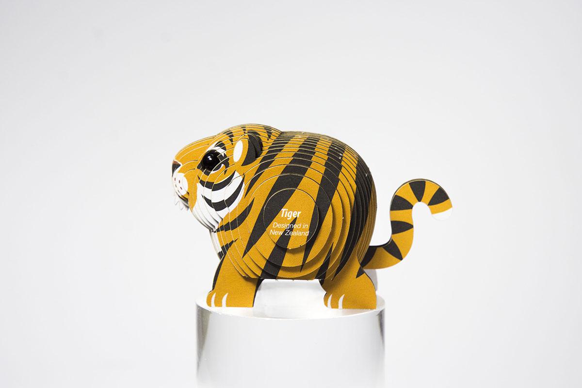 Tiger Eugy Tigers 3D Puzzle