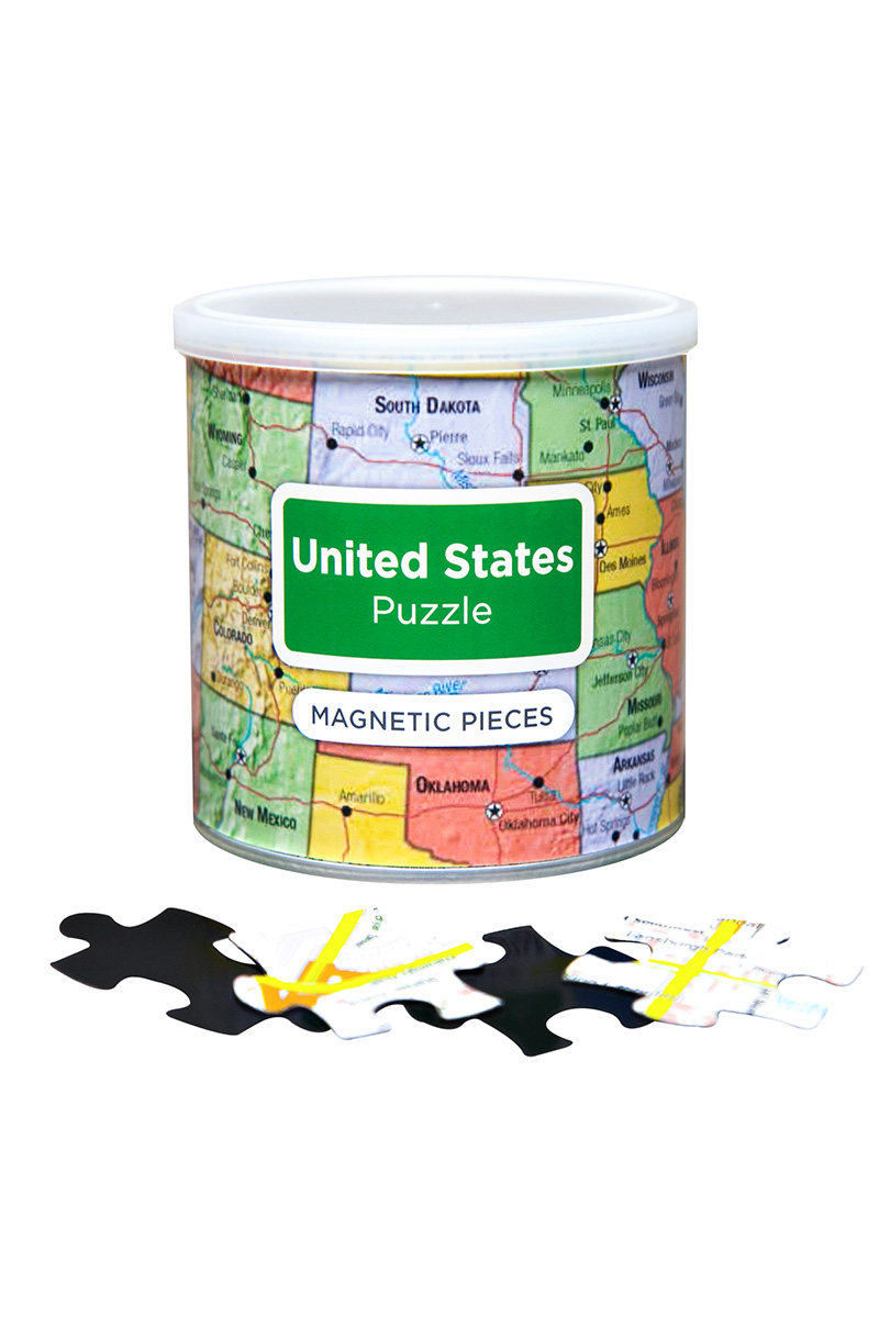 United States Puzzle Maps / Geography Jigsaw Puzzle