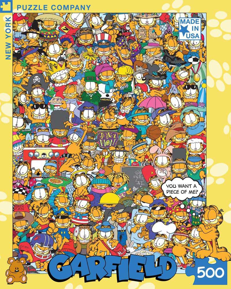 Garfield - All Dressed Up Cartoons Jigsaw Puzzle