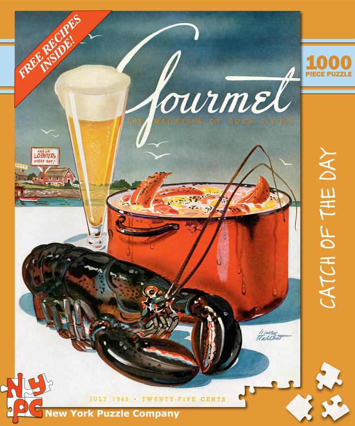 Gourmet - Catch of the Day Food and Drink Jigsaw Puzzle
