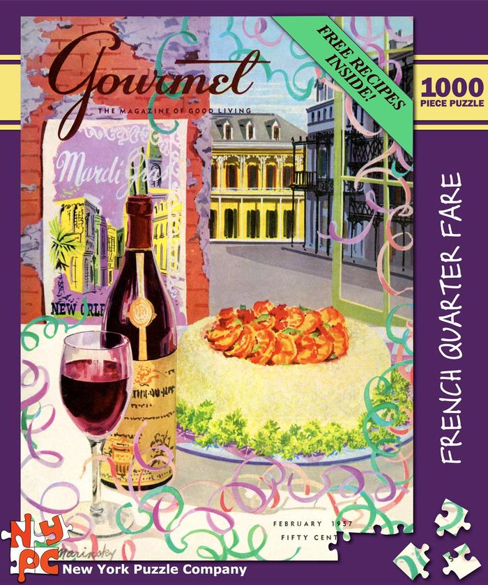 Gourmet - French Quarter Fare Food and Drink Jigsaw Puzzle