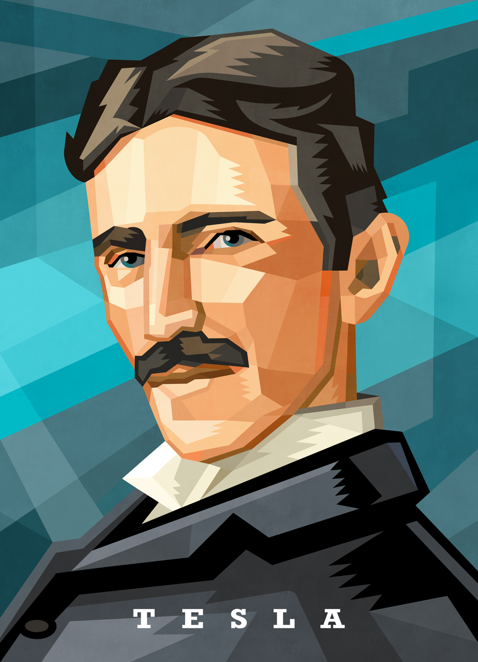 Scientist Jigsaw Puzzle Series: Nikola Tesla Famous People Jigsaw Puzzle