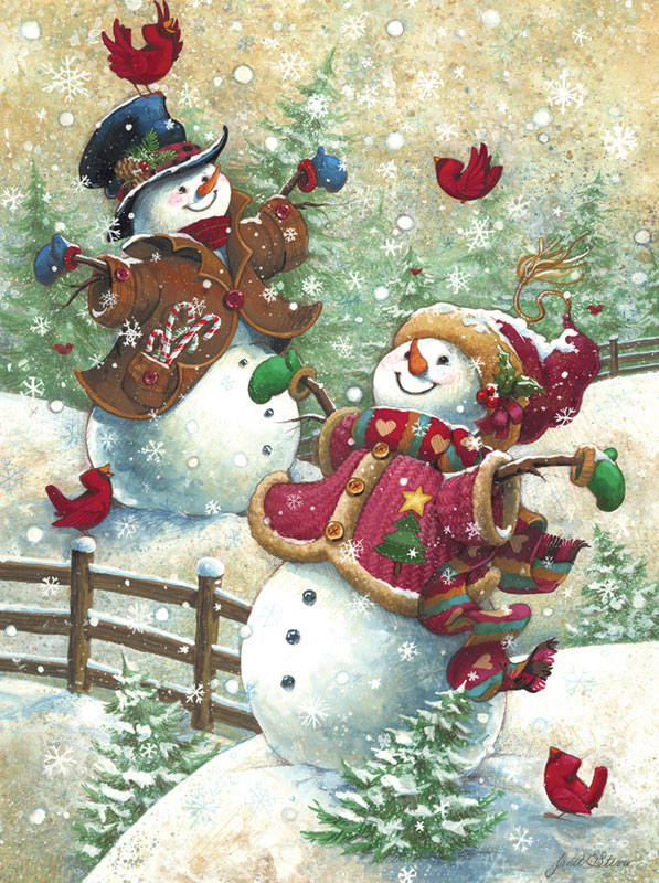 Gotta Love Snow Christmas Jigsaw Puzzle