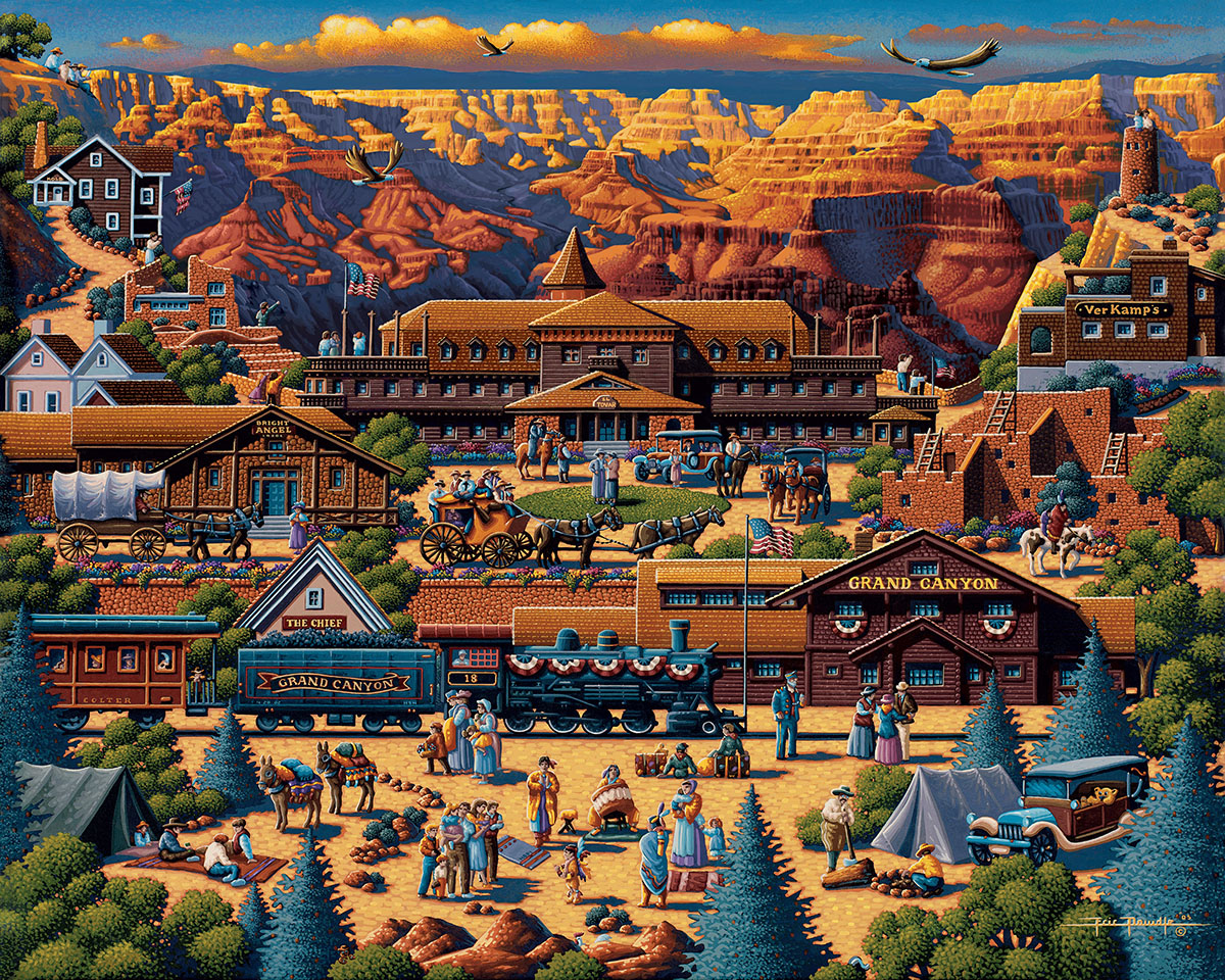 Grand Canyon Summer Jigsaw Puzzle