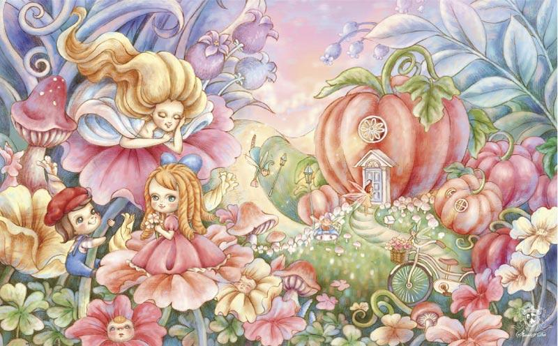 Stanley Dai - Joy of the World Fantasy Jigsaw Puzzle