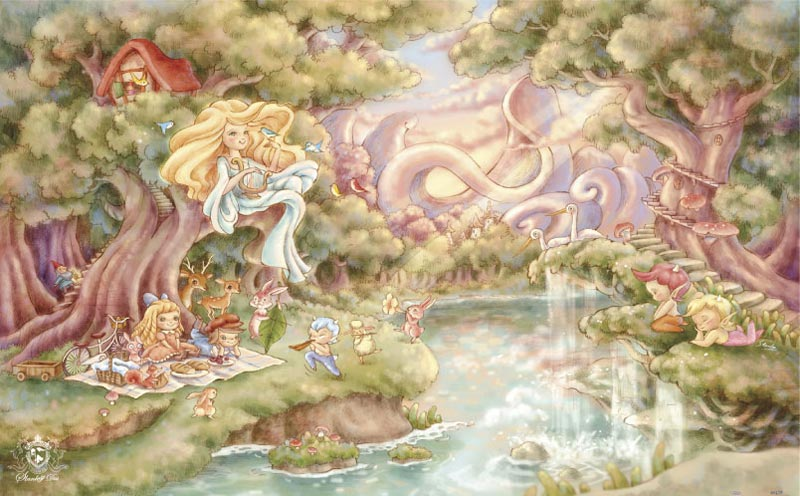 Stanley Dai - Song of Artemis Angels Jigsaw Puzzle