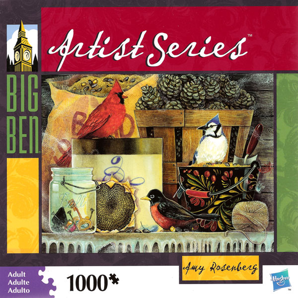 Big Ben Artist Series - Amy Rosenberg Birds Jigsaw Puzzle