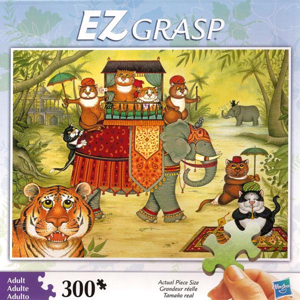 Ez Grasp Linda Jane Smith Cats Jigsaw Puzzle