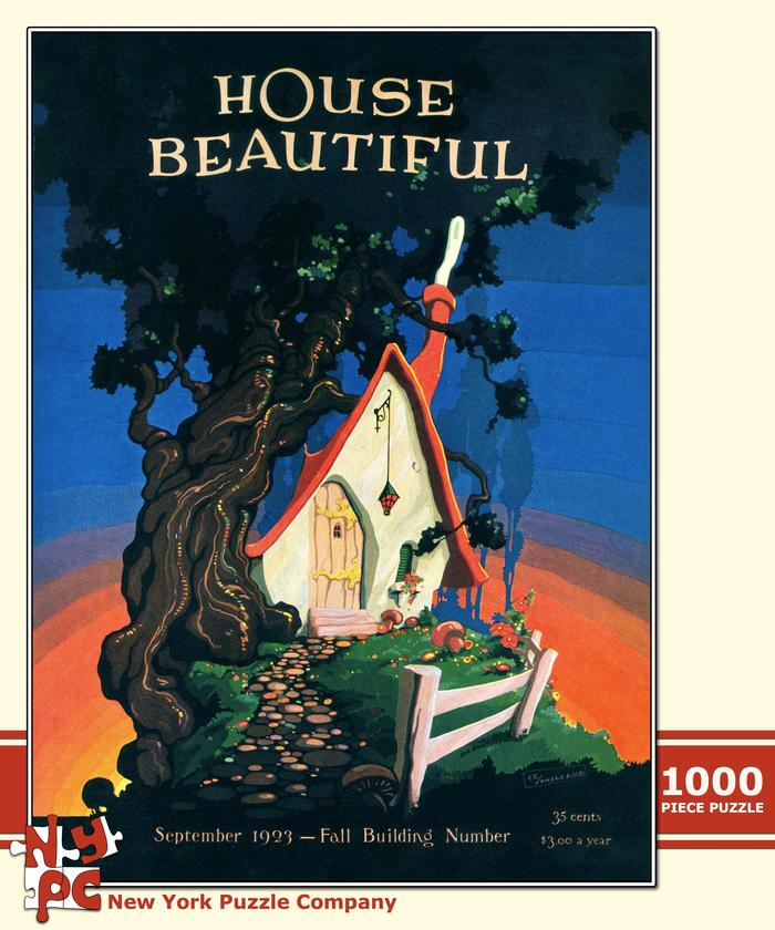 House Beautiful - Fairy Tale Cottage Fantasy Jigsaw Puzzle