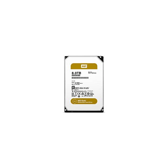 Western Digital Gold WD8002FRYZ 8TB 7200RPM SATA3/SATA 6.0 GB/s 128MB Enterprise Hard Drive (3.5 inch)