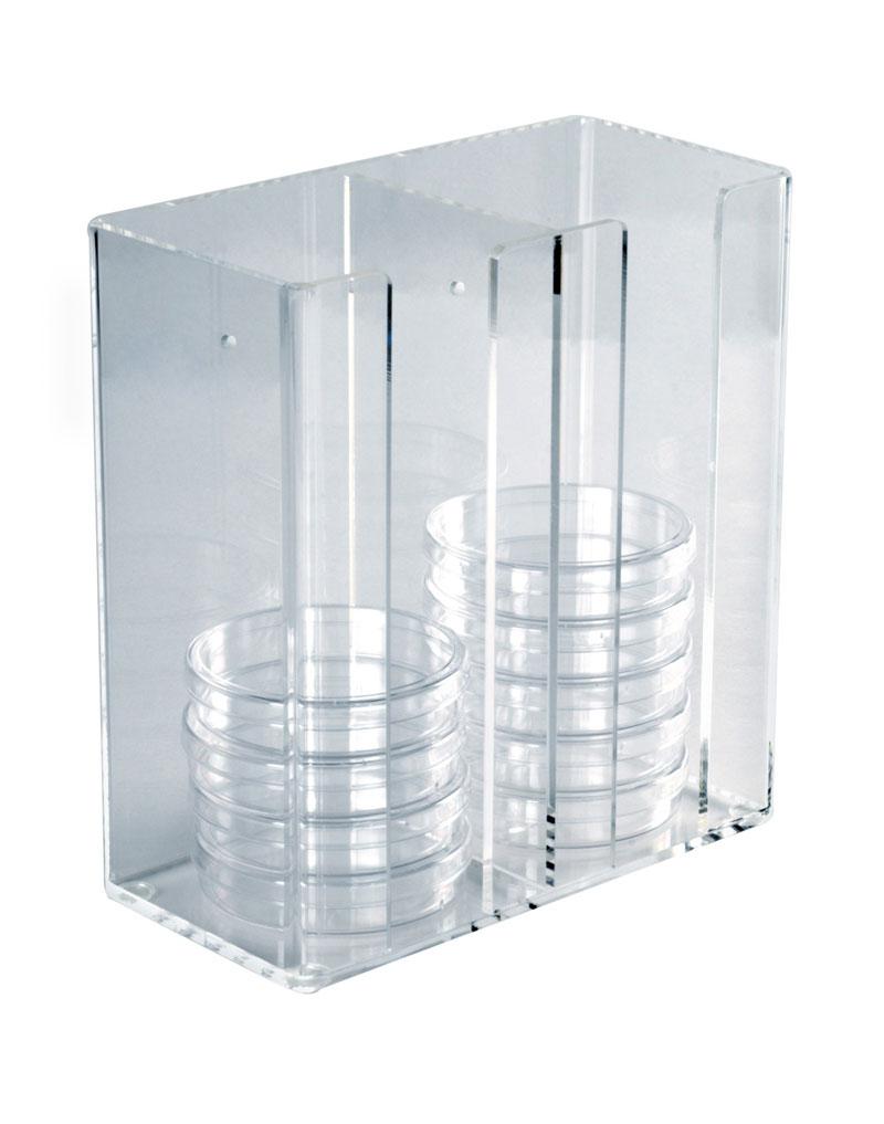 Acrylic Petri Dish Dispenser Scimart