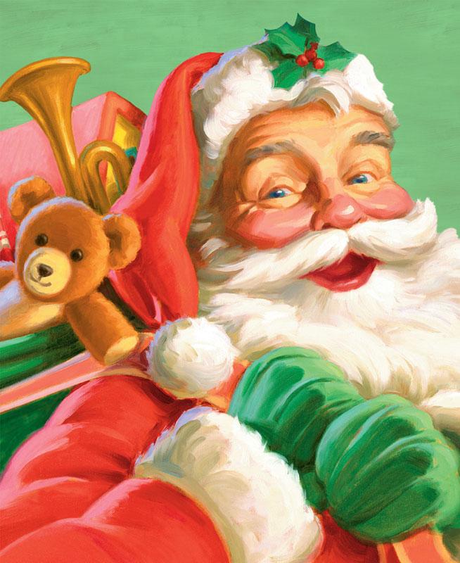 St Nicholas Christmas Jigsaw Puzzle