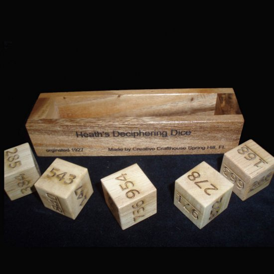 Heath's Deciphering Dice