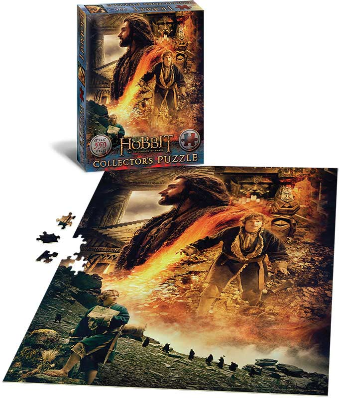 The Hobbit Book Illustrations Smaug