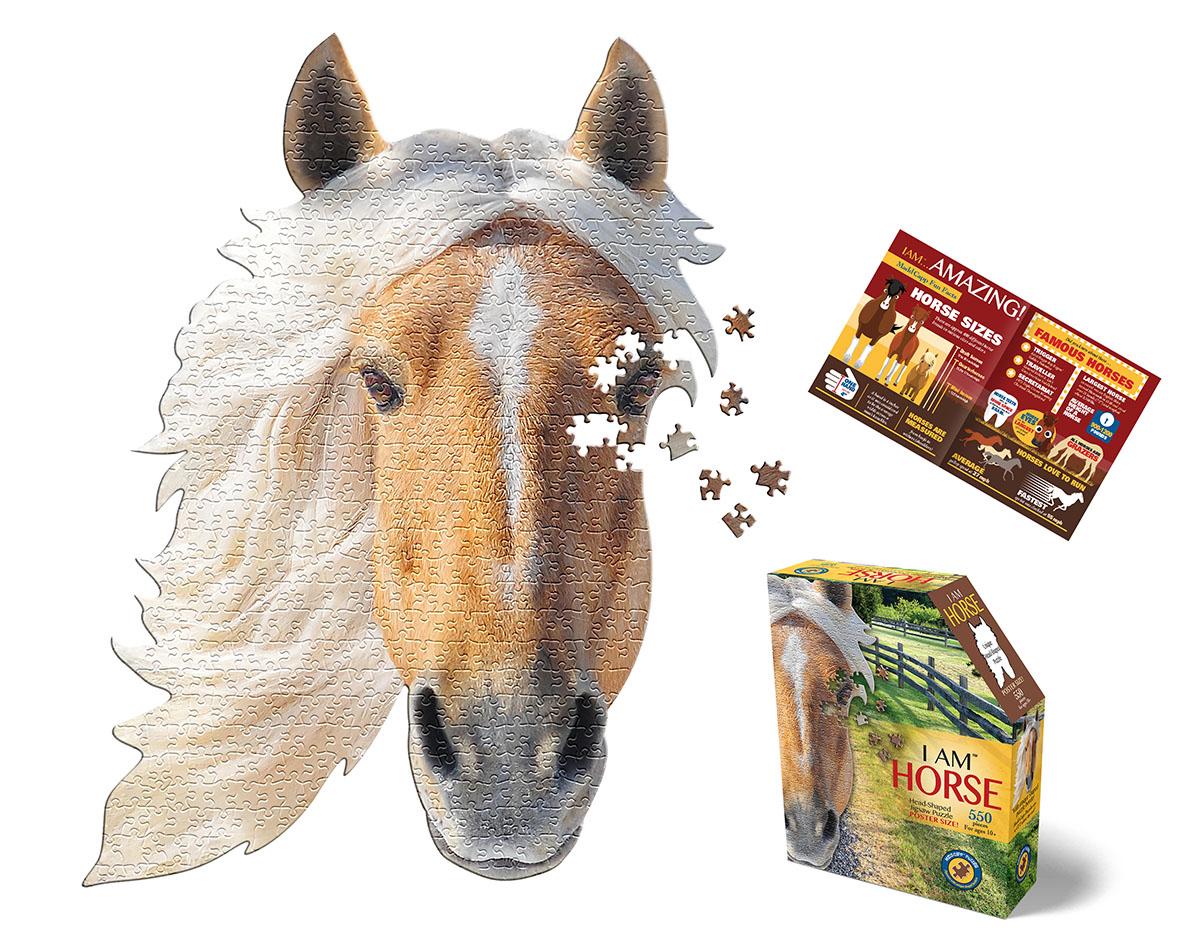 I Am Horse Horses Shaped Puzzle