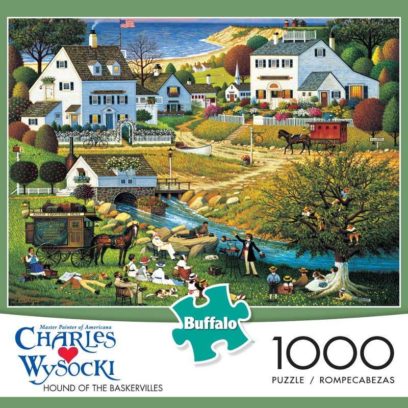Hounds of the Baskervilles - Scratch and Dent Beach Jigsaw Puzzle