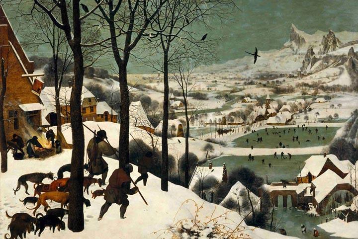 Hunters in the Snow by Pieter Bruegel The Elder Fine Art