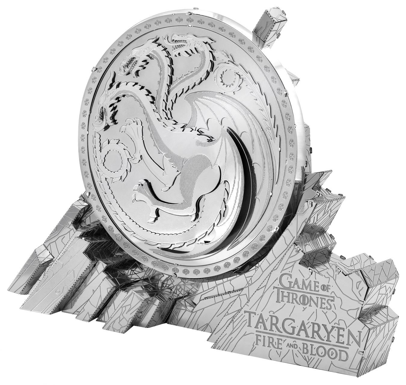 Targaryen Sigil Game of Thrones Movies / Books / TV Metal Puzzles