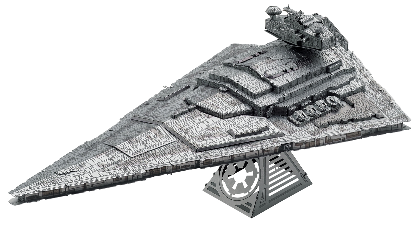 Imperial Star Destroyer - Star Wars Metal Puzzles
