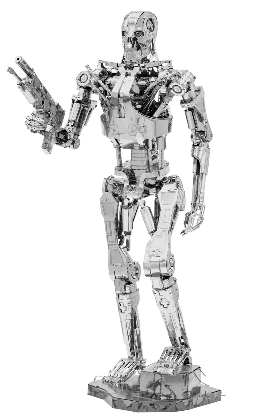 Terminator T-800 Movies / Books / TV Metal Puzzles