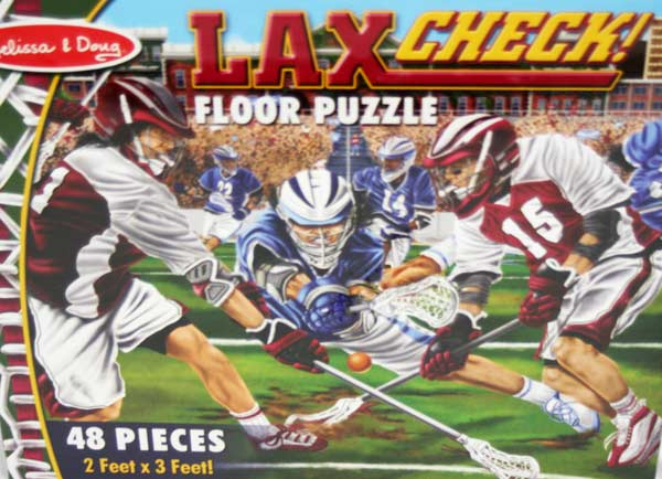 LAX Check! - Floor Sports Children's Puzzles