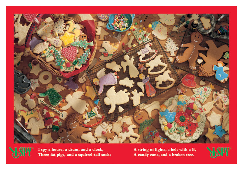 I Spy - A Very Sweet Holiday Christmas Hidden Images