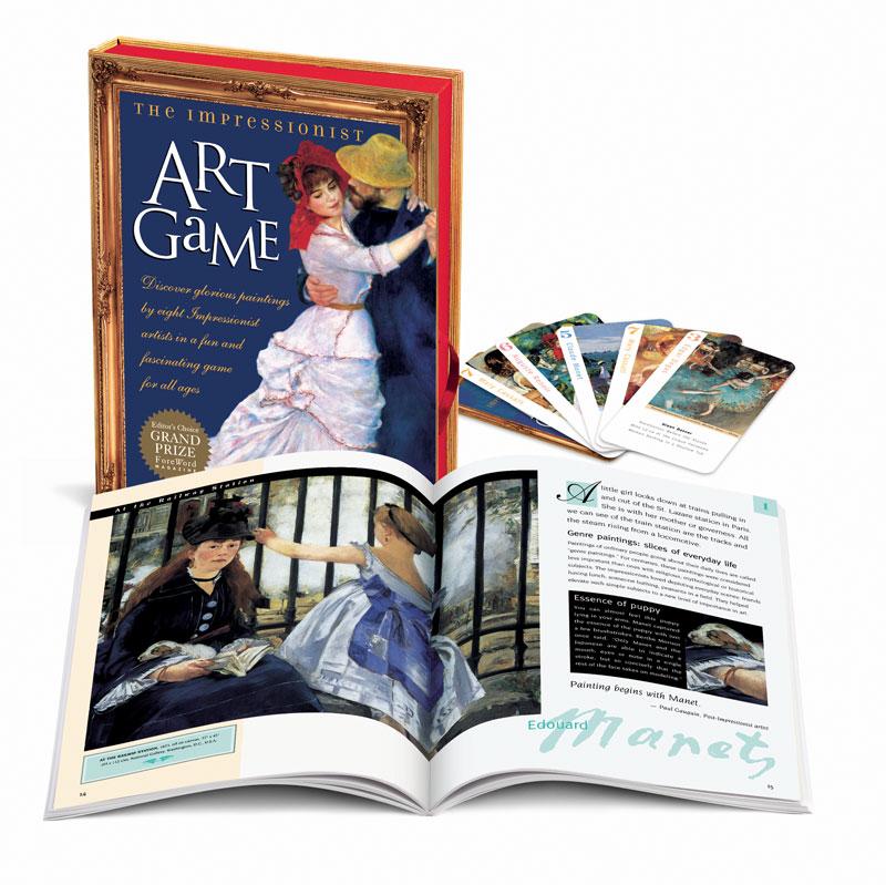 Impressionist Art Game Educational