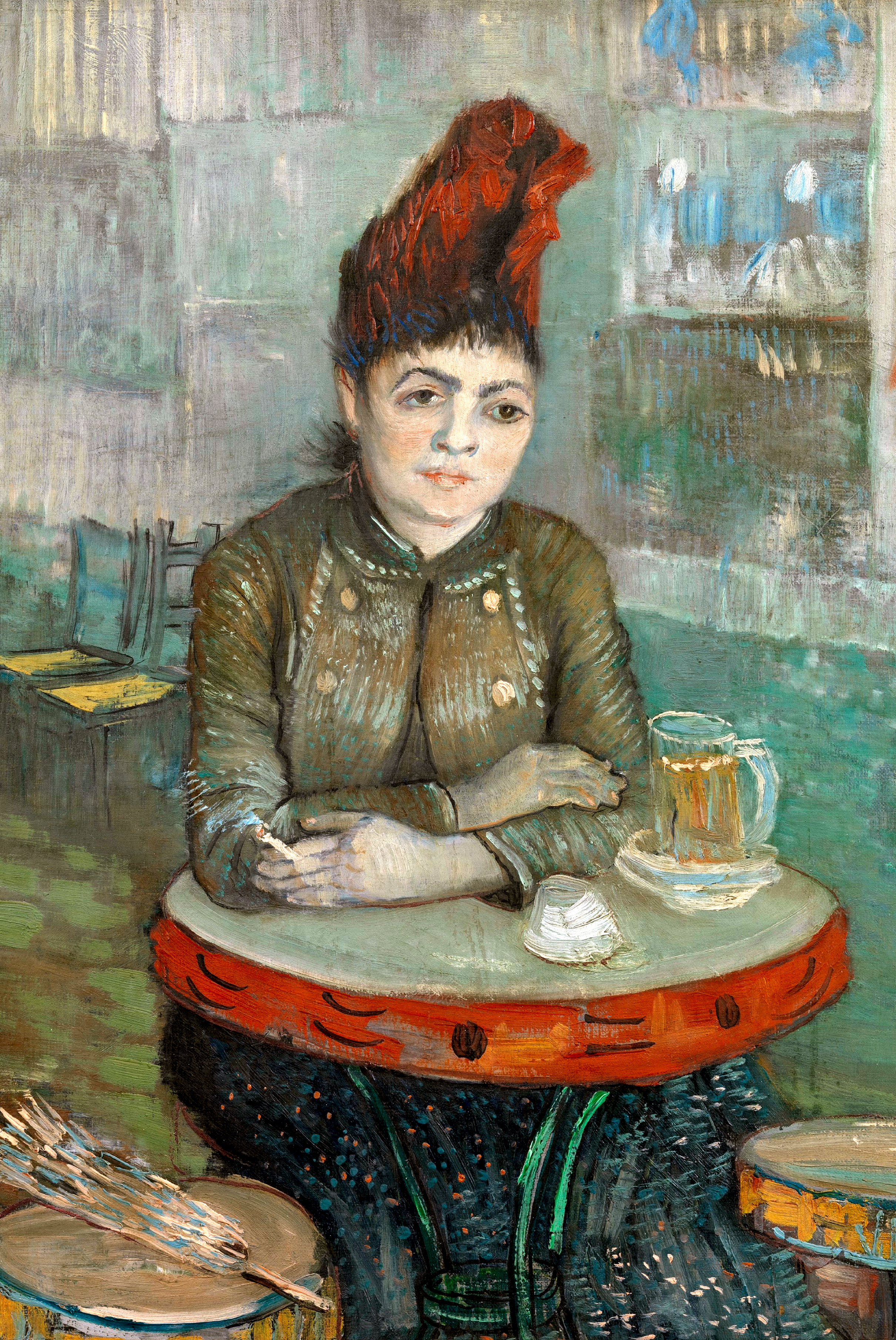 In the Cafe by Van Gogh Fine Art