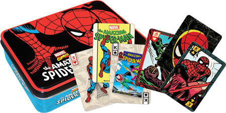 Marvel Spiderman (Playing Card Tin) Cartoons Playing Cards