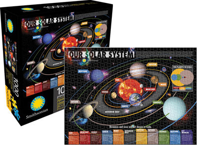 Our Solar System (Smithsonian) Jigsaw Puzzle ...