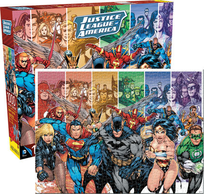 DC Universe Cartoons Jigsaw Puzzle