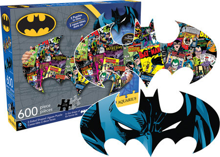 Batman - Two Sided Puzzle Cartoons Shaped Puzzle
