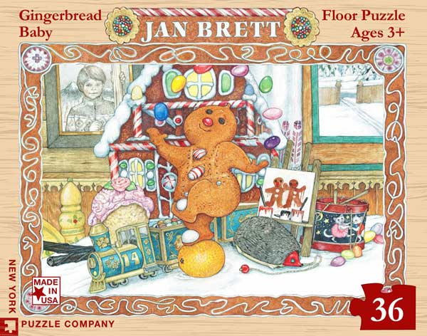 Gingerbread Baby - Scratch and Dent Food and Drink Jigsaw Puzzle