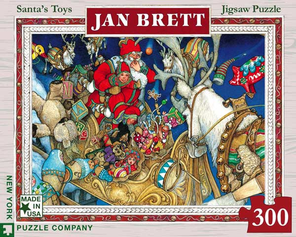 Santa's Toys Santa Jigsaw Puzzle
