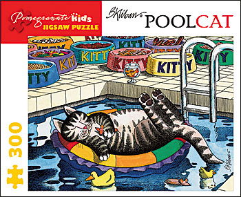Pool Cat Cats Jigsaw Puzzle