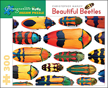 Beautiful Beetles Butterflies and Insects Jigsaw Puzzle