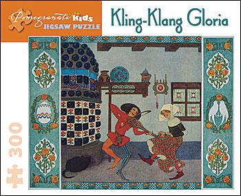 Heinrich Lefler: Kling-Klang Gloria Dance Children's Puzzles