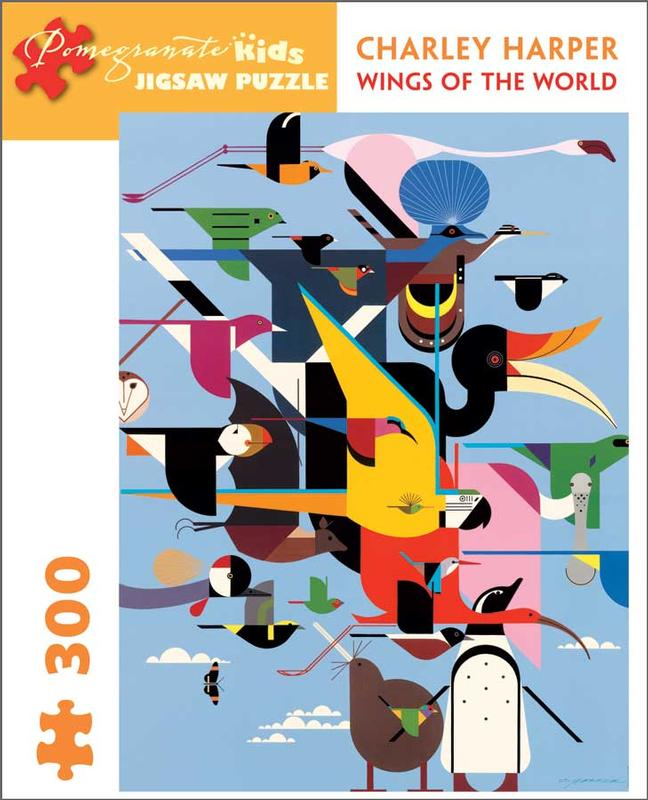 Wings of the World Birds Jigsaw Puzzle