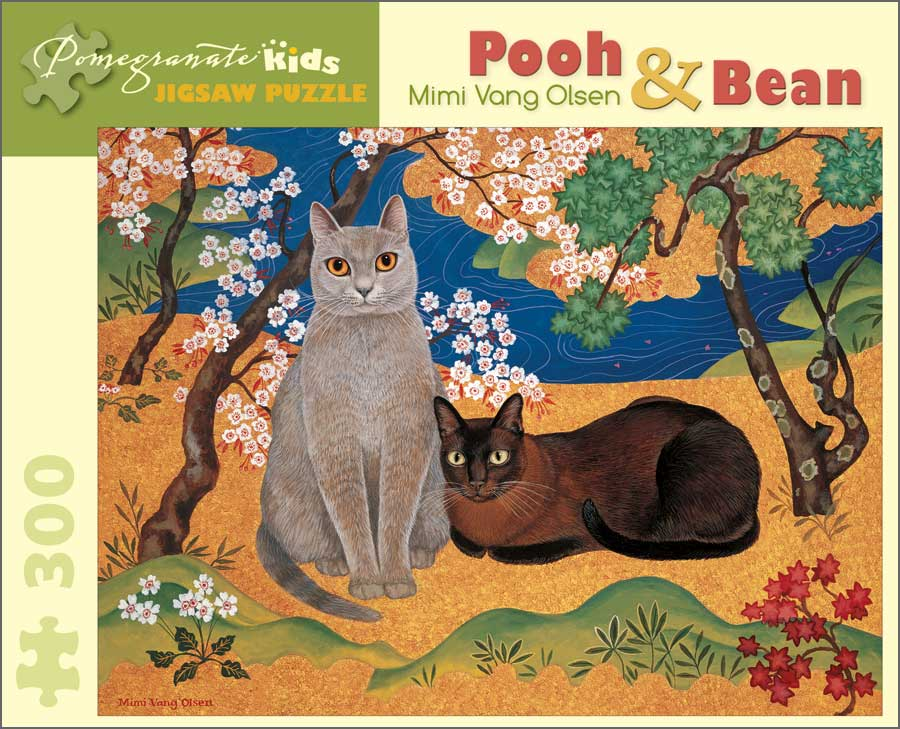 Mimi Vang Olson: Pooh and Bean Cats Children's Puzzles