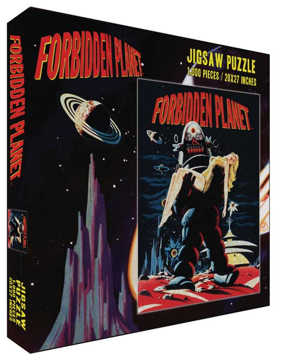 Forbidden Planet - Robby Movies / Books / TV Jigsaw Puzzle