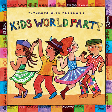 Kids World Party CD Travel Music CD