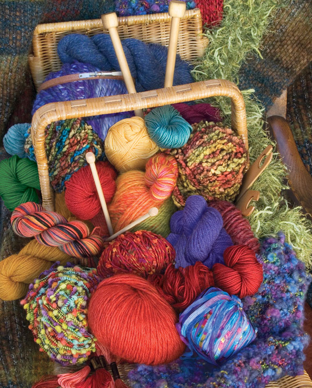 Knitter's Delight Everyday Objects Jigsaw Puzzle