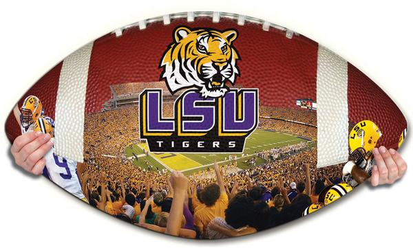 Collegiate Football - LSU Sports Jigsaw Puzzle