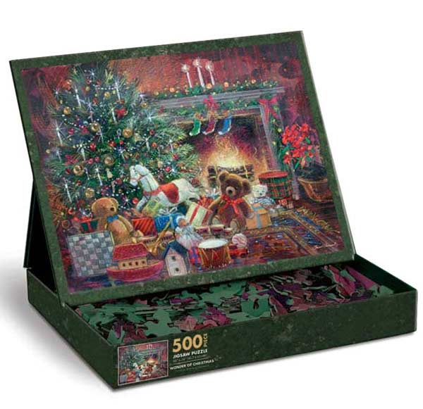 Wonder of Christmas Christmas Jigsaw Puzzle